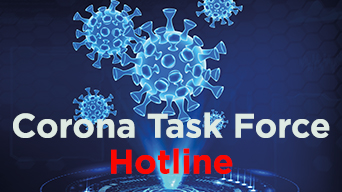 Corona Task Force Hotline