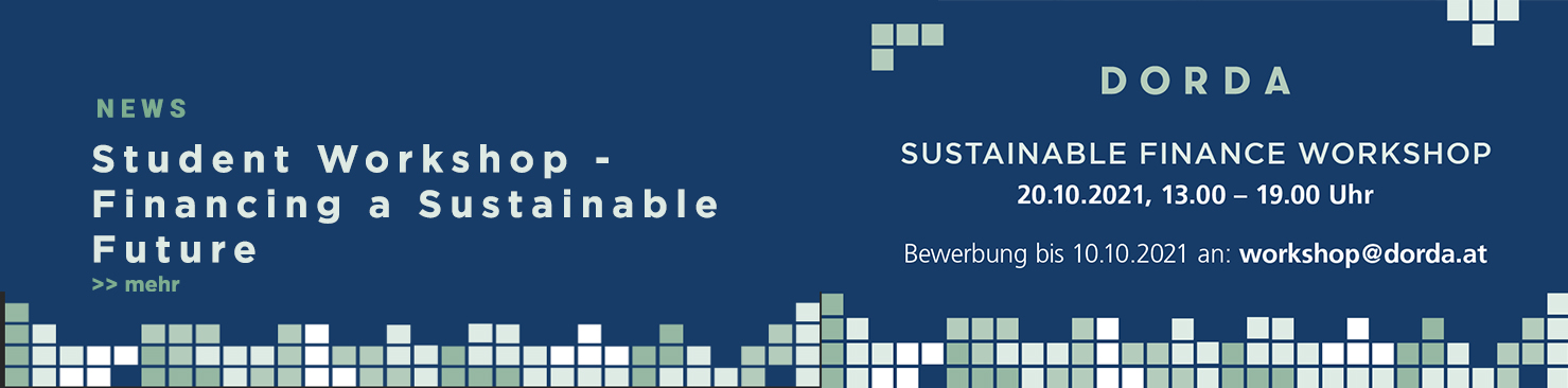 Sustainable Finance Workshop