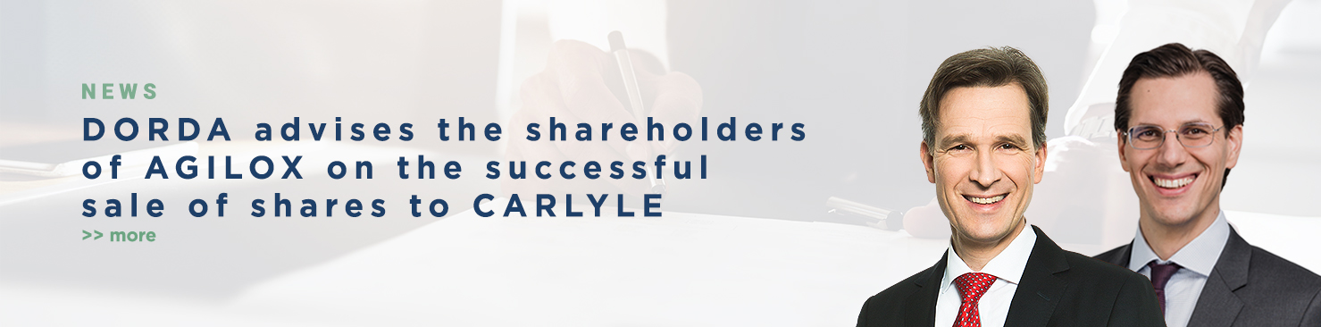 DORDA advises the shareholders of AGILOX on the successful sale of shares to CARLYLE