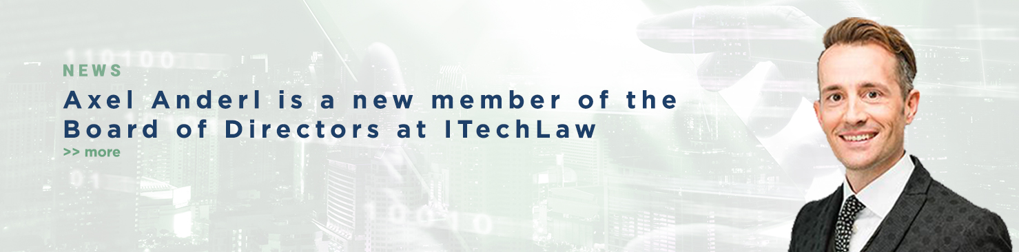 Axel Anderl is a new Member of the Board of Directors at ITechLaw