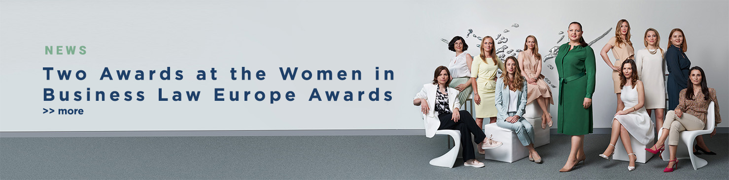 Two Awards for DORDA at the Women in Business Law Europe Awards