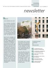 Cover des Newsletters 4/2015