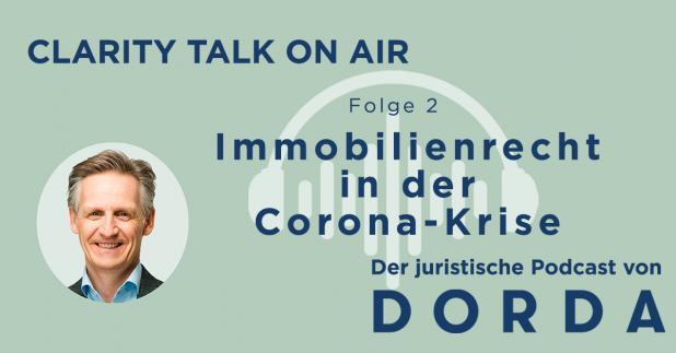 Rechtspodcast: Immobilienrecht in der Corona-Krise