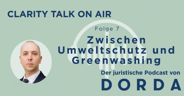 Rechtspodcast: Zwischen Umweltschutz und Greenwashing