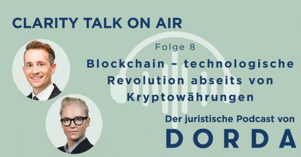 Rechtspodcast: Blockchain – technologische Revolution abseits von Kryptowährungen