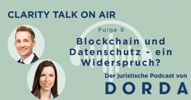 Rechtspodcast: Blockchain und Datenschutz
