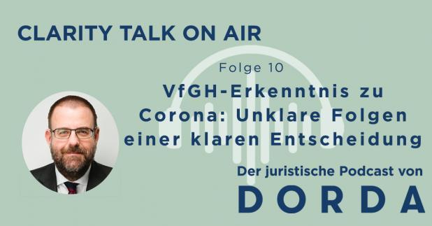 Rechtspodcast: VfGH-Erkenntnis zu Corona