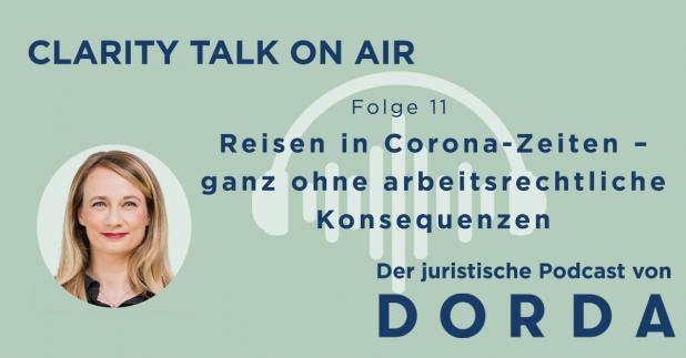 Podcast - Reisen in Corona-Zeiten