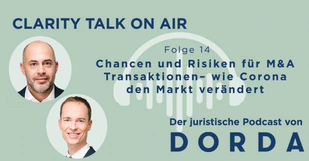 Rechtspodcast: Chancen und Risiken für M&A Transaktionen