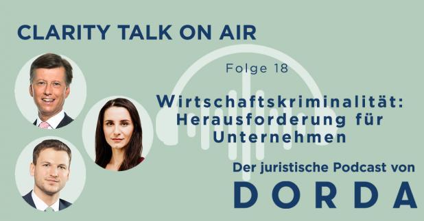 Rechtspodcast: Wirtschaftskriminalität - Herausforderung für Unternehmen